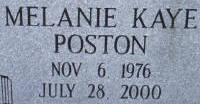 Melanie Kaye <i>Poston</i> Farmer
