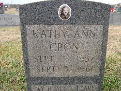 Kathy Ann Cron