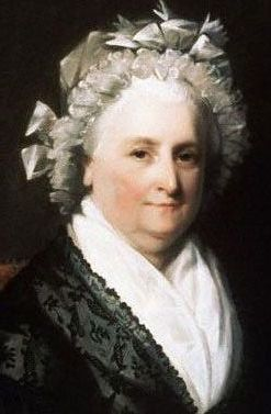 Martha <i>Dandridge</i> Washington