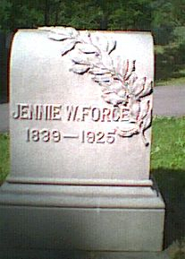 Jennie <i>Wright</i> Force