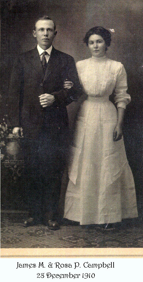 Clarence Michael Caple and Maud Bond Campbell