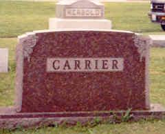 Hazel D <i>Whitaker</i> Carrier