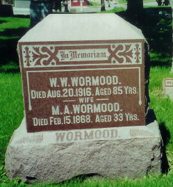 Mary Ann <i>Kenyon</i> Wormood
