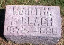 Martha F. Beach