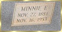 Minnie F. <i>Ledford</i> Bell
