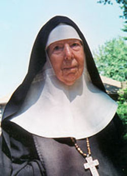 Mother Benedict Duss