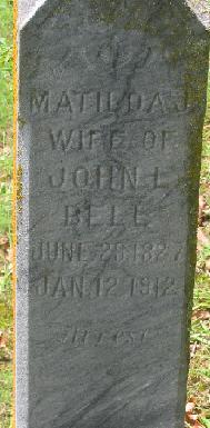 Matilda J Bell