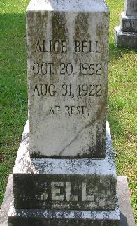 Alice <i>Shackleford</i> Bell