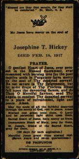 Josephine Theresa <i>Hoffman</i> Hickey