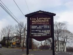 Line Lexington Mennonite Church Cemetery