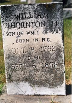 William H Thornton