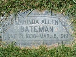 Marinda <i>Allen</i> Bateman