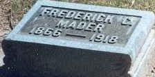 Frederick C Mader