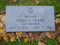 Erma F <i>Bender</i> Trame