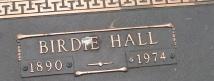 Birdie <i>Hall</i> Allen