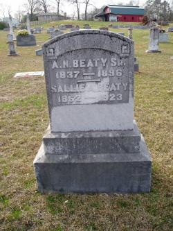 Sallie A. <i>Keller</i> Beaty