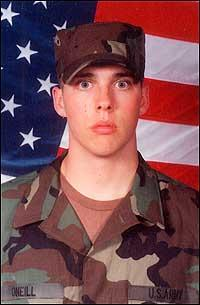 PFC Evan William O'Neill