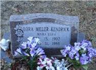 Lora <i>Miller</i> Kendrick