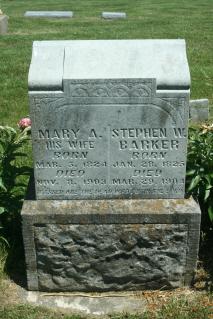 Mary Ann <i>Hatton</i> Barker
