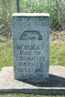 Norma F Barker