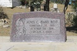 Agnes C Babe Boyd
