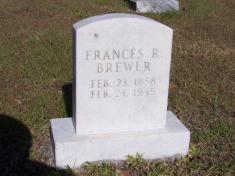 Frances R Brewer