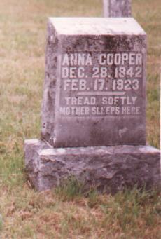 Anna <i>Housley</i> Cooper