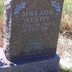 Adelaide Anna <i>Irving</i> Austin