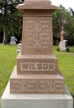 Frances M. <i>Wilson</i> French