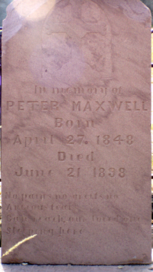 Peter Menard Maxwell