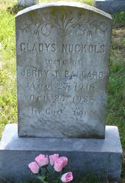 Gladys <i>Nuckols</i> Ballard