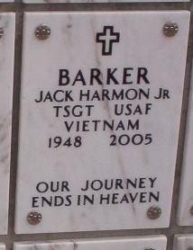 Jack Harmon Barker, Jr
