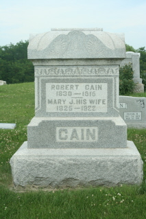 Mary Jane <i>Curtis</i> Cain