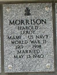 Harold Leroy Morrison
