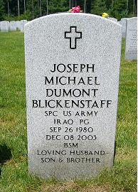 Spec Joseph Michael Dumont Blickenstaff