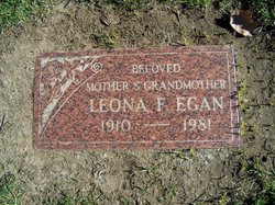 Leona Frances <i>Ward</i> Egan