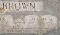 Alice Kathleen <i>Moody</i> Brown