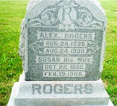 Susanna A. <i>Chase</i> Rogers
