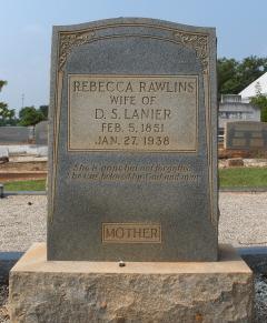 Rebecca <i>Rawlins</i> Lanier