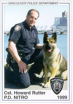 Police Service Dog Nitro