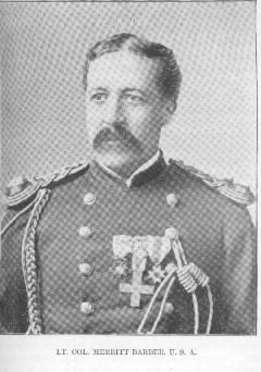 Maj Merritt Barber