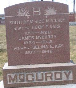 Edith Beatrice <i>McCurdy</i> Barr