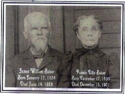 Frances Ellis Fannie <i>Baker</i> Baker