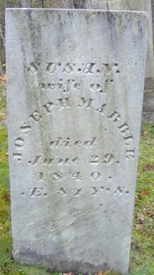Susannah Elizabeth <i>Butler</i> Marble