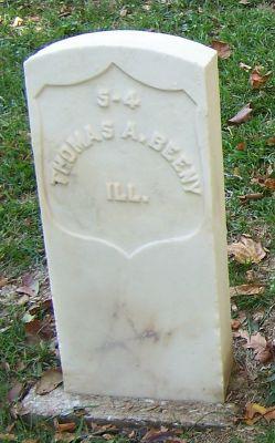 Pvt Thomas A. Beeny
