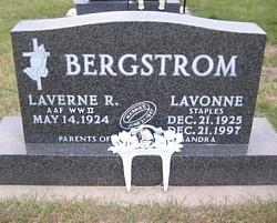 LaVonne <i>Staples</i> Bergstrom