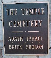 The Temple Cemetery