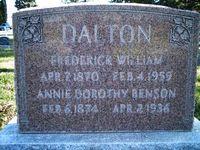 Anna Dorthea <i>Hanson</i> Dalton