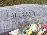 SGT Arthur Alexander