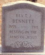 Rev T. J. Bennett